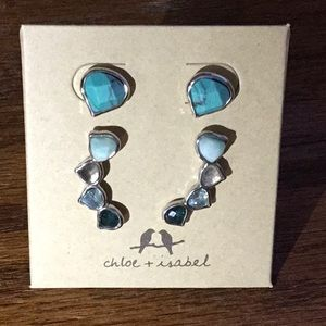 Chloe + Isabel Peacock earrings